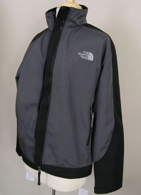 53b6b9d94 North Face Summit Series Windstopper Soft Shell Gray Black Small on ...
